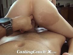 Natashe White loves to ride dicks with a finger in her butt