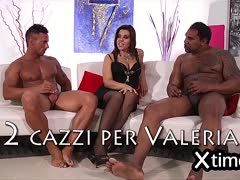 oInterracial du with hard cocks satisfies Valeria Borghese