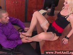 Vivian schmitt footjob