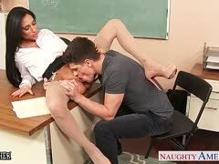 Office sex with Bruce Venture and Jaclyn Taylor