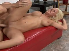 Blonde milf is ready to fuck