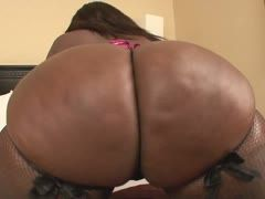 Ebony with a gigantic fat ass