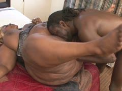 Big ebony monster is all over the black boner