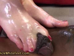 She milks him only with her feet