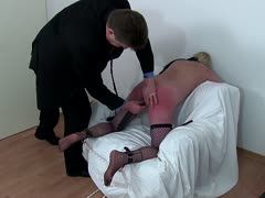 Fat milf is tied and tortured
