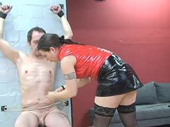 Horny mistress takes her toll