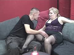 Linda Fox looks for a hard fucker