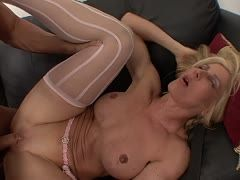 Milf Kelly Estelle is banged a rough way by Lee Stone