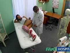 Creampie for the female patient