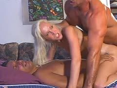 Double fuck for Alana Evans