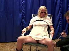 German milf gets a very hard punishment