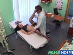 Doctor fucks his hot patient