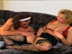 German milf with hairy hole bangs her lover