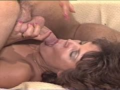 Intense oral sex before banging