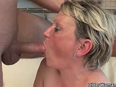 ROSE MARIE retro Busty Anal Mature